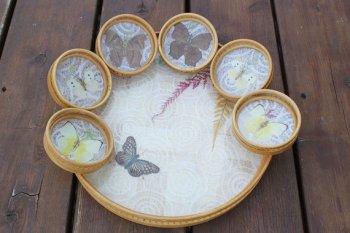 Nature inspired gift items, vintage or handmade would certainly have a place in my vision.