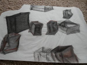 Paper bag study. Conte. RP 2002-2003.