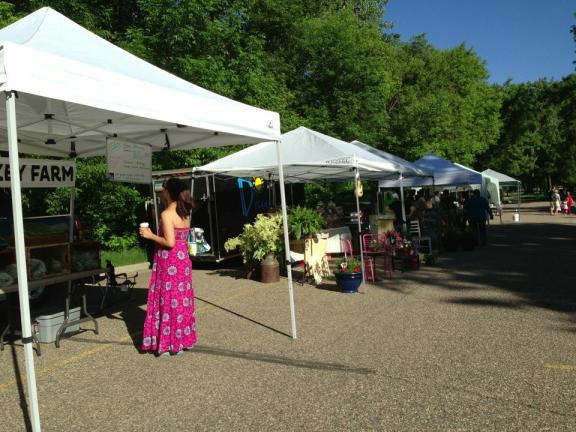 Bismarck's newest farmers market, BisMarket
