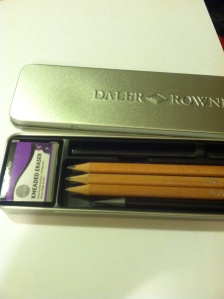 Brand new drawing pencils